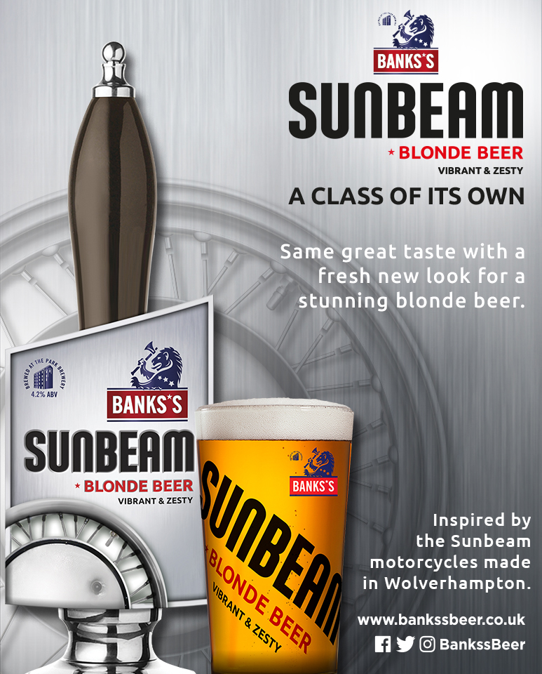 SUNBEAM ROARS INTO THE SPRING WITH A FRESH NEW LOOK