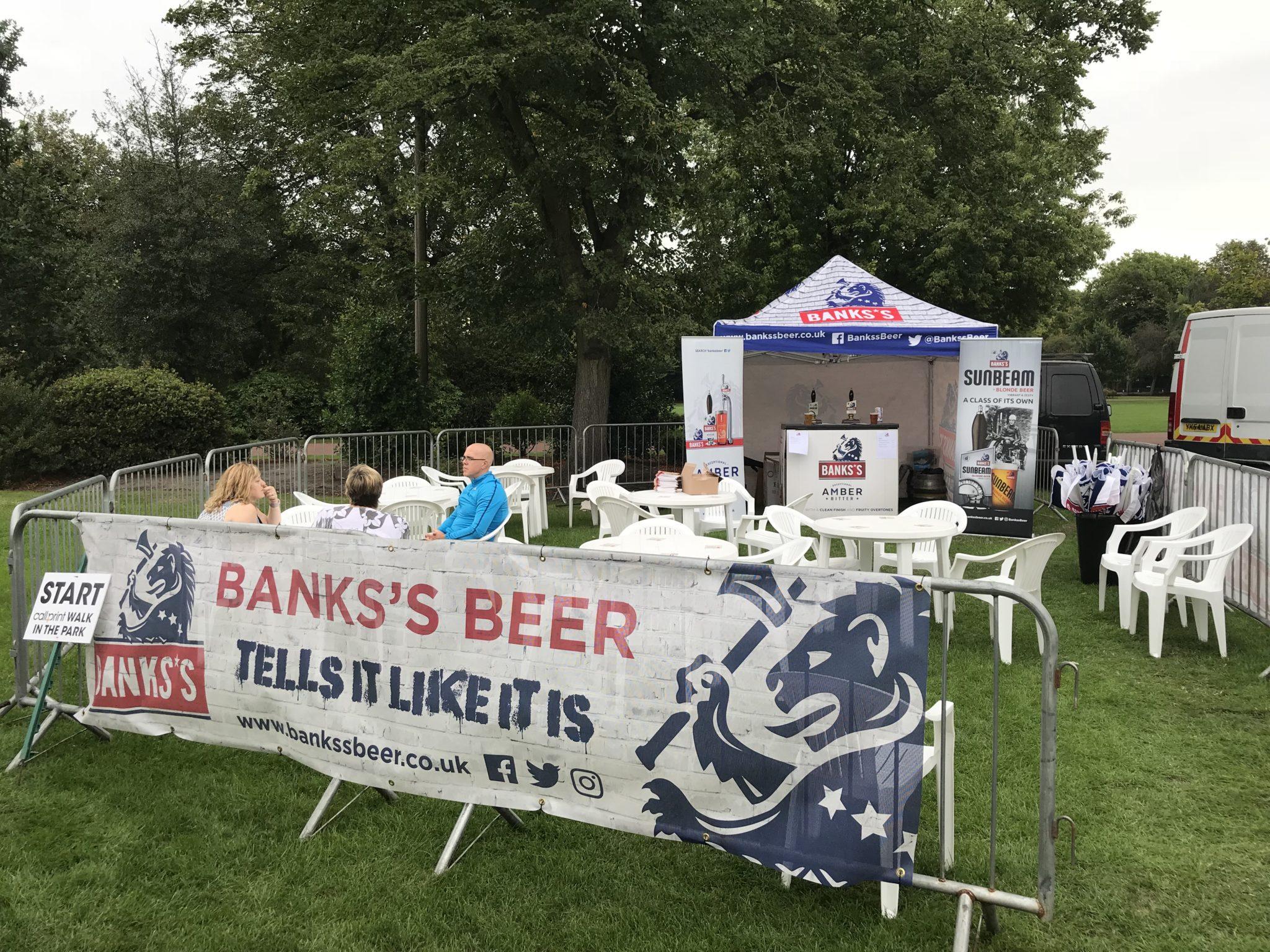 Banks's Sponsors Carver Wolverhampton Half Marathon Events