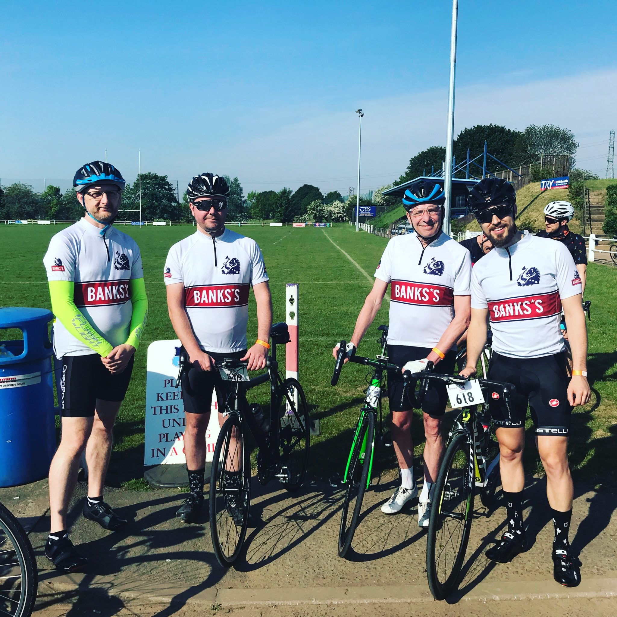 Banks's team go 'Round the Wrekin' for local charity