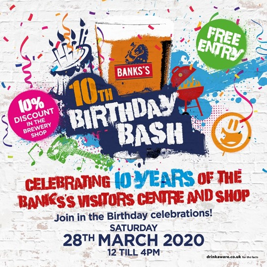 Banks's 10th Birthday Bash