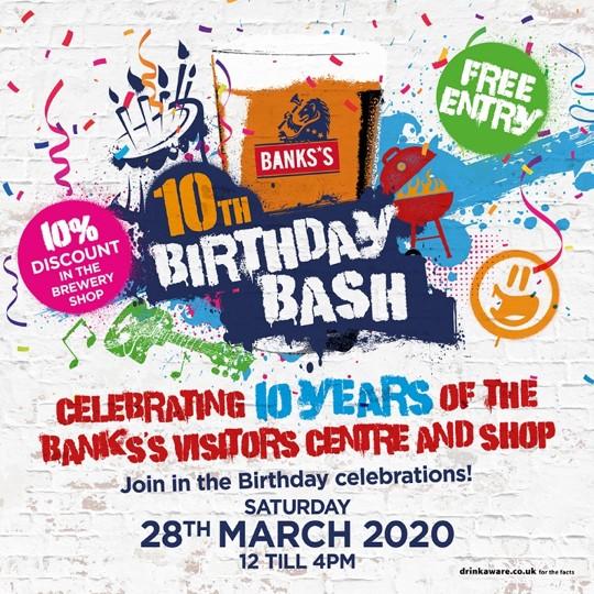 Banks's 10th Birthday Bash