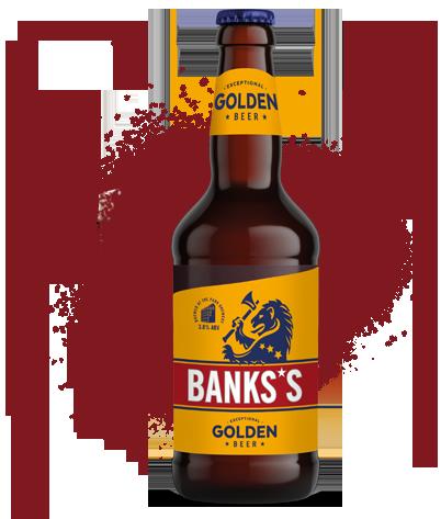 Banks's Golden Beer